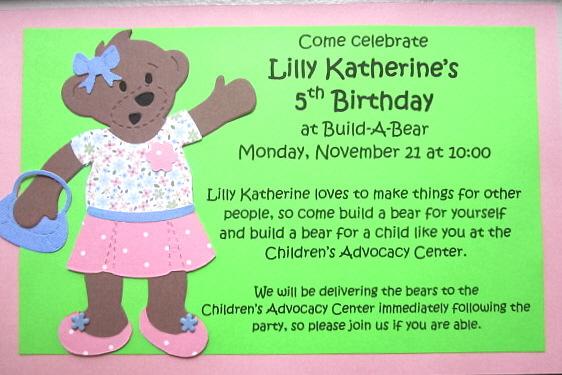 Lk S Build A Bear Party Finally